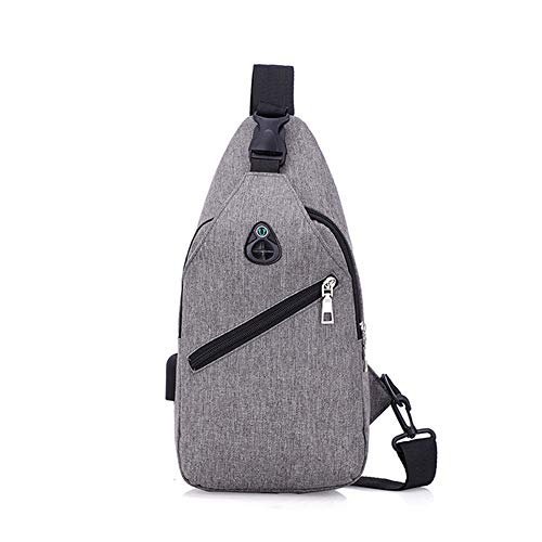 Mali Men Chest Bag Business Leisure Backpack Multifunction USB Charging...
