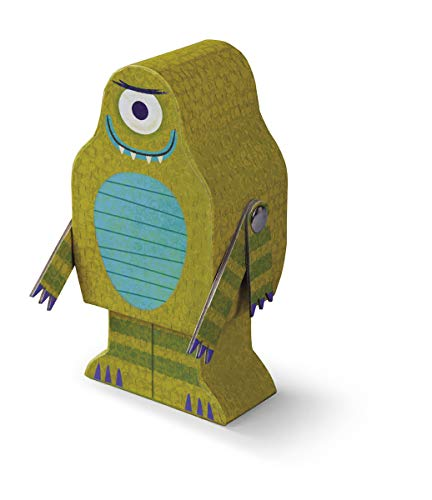 Crocodile Creek Creeture Puzzle + Play Alien Jigsaw Puzzle in Alien Shaped Box (48 Piece), 8
