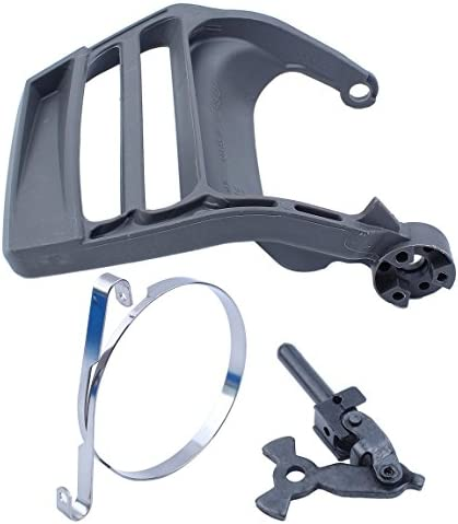 Chain Brake Handle Lever Hand Guard Cover Band Kit Fit HUSQVARNA 340 345 350 353