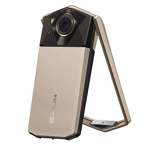 Casio Exilim EX-TR70 (Gold) Selfie Digital Camera - International Version (No Warranty)