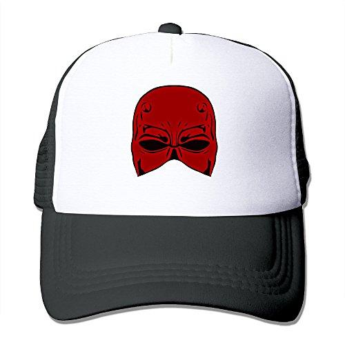 Daredevil Costume Netflix Black (ACMIRAN Daredevil Adjustable Hat One Size Black)