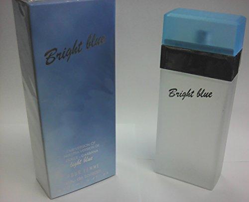 Eurolux Bright Blue pour Femme, our version of Dolce & Gabbana Light Blue, eau de toilete EDT, for Women 100ml 3.4 Oz (Femme 3.4 Ounce Edt)