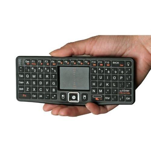 durable modeling Rii II Touch N7 2 4 Ghz Mini Wireless Keyboard