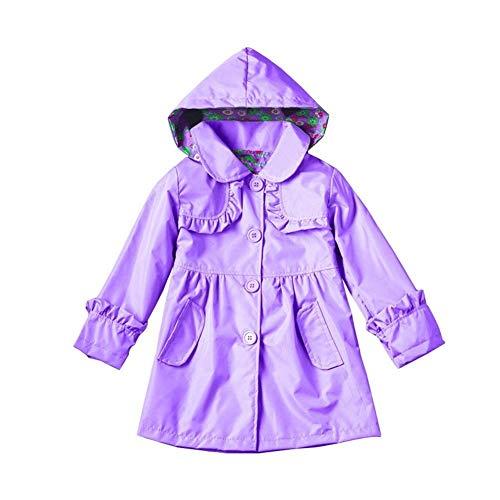 SUNNY Store Girls Jackets Coats Outerwear Purple