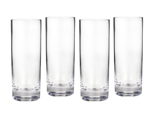 Hi Ball Glass Set - Marquis by Waterford 154444 Entertaining Collection Vintage HiBall, Set of 4