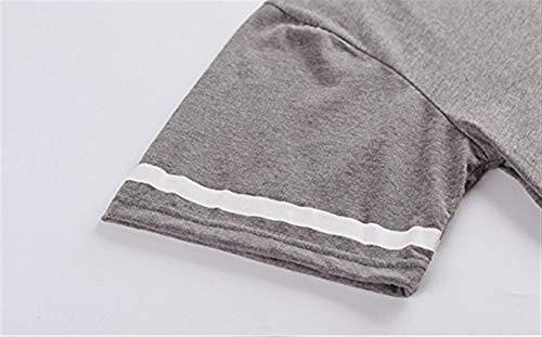 Pijama Piezas Manga Y Cómodo Conjunto Hombres Lounge Para Top Ropa Set Grau1 Verano De Niños Algodón Casa Dos Corta SxTqT5CwR