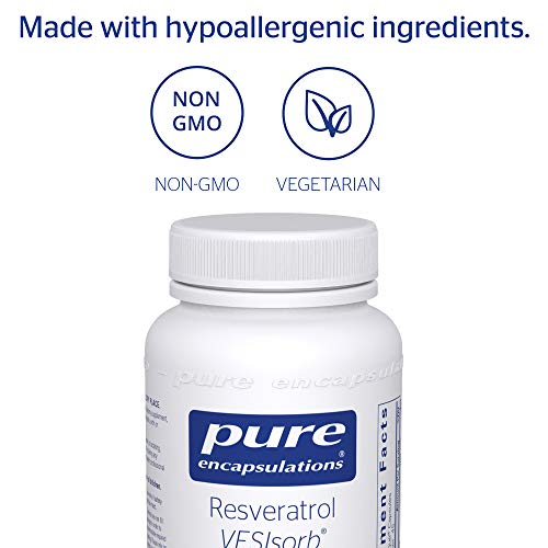 Pure Encapsulations - Resveratrol VESIsorb - Hypoallergenic Support for Cellular, Cardiovascular, and Neurocognitive Health* - 90 Caplique Capsules by Pure Encapsulations (Image #3)