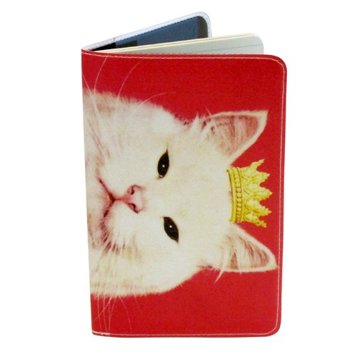 Pink Royal Kitty Journal (Diary, Notebook) w/Moleskine Cahier Pocket ()