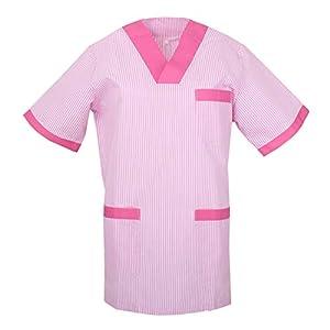 MISEMIYA Camisetas Unisex Uniformes Laborares Estética Dentista Trabajo para Mujer 3