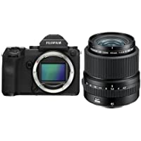 Fujifilm GFX 50S 51.4MP Medium Format Mirrorless Camera (Body Only) with Electronic Viewfinder, Full HD 1080p Video - With Fujifilm FUJINON GF 45mm F/2.8 R WR Lens