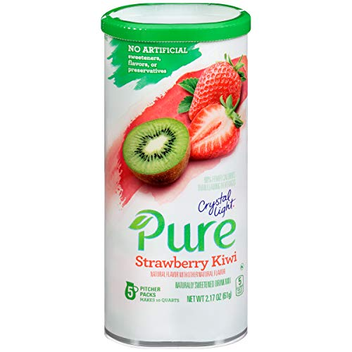 Crystal Light Strawberry Kiwi Drink Mix (5 Pitcher Packets)