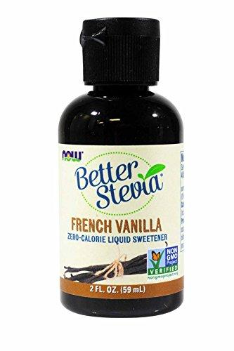 French Vanilla Stevia Liquid Now Foods 2 oz Liquid (Pack of 3)