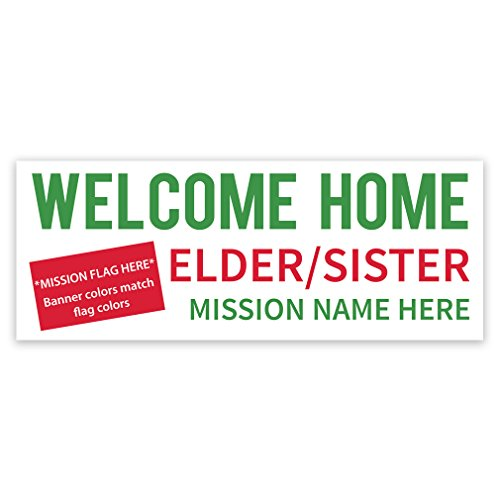 Flag Missionary Banner Perfect homecomings product image