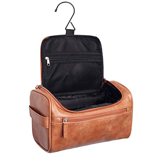 VASKER Hanging Toiletry Bag Men Travel Makeup Organizer Cosmetic Bag Waterproof Dopp Portable Bathroom Gym Toiletry Bag Women