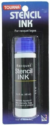 Tourna Tennis Racquet Stencil Ink