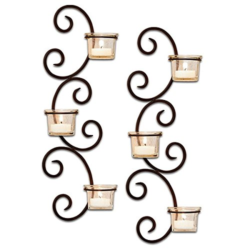 (Set of 4 Classic Wall Sconces)