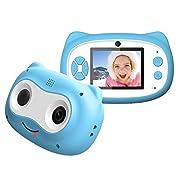 Kids Camera 1080P HD 24MP Digital Children Cameras with 2.4 Inch HD 1080P Children Rechargeable Kids Mini Camera…