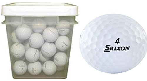 Srixon Mix Assorted Recycled Golf Balls (100-Ball Bucket)