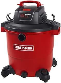 CRAFTSMAN 17596 20 Gallon 6.5 Peak HP Wet/Dry Vac, Heavy-Duty Shop Vacuum with...