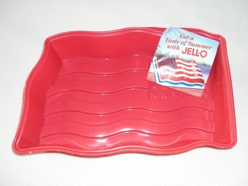 (JELL-O Jel 4th of July American Flag Mold)