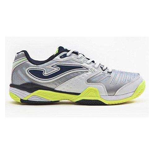 Zapatilla Joma Padel Slam White-Fluor Clay Talla 39 EUR: Amazon.es: Zapatos y complementos