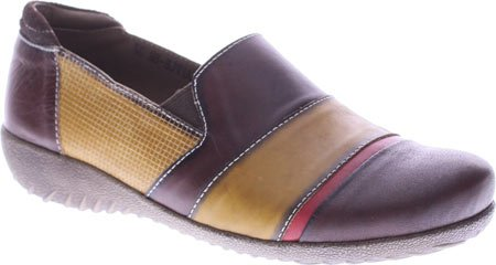 Lartiste De Spring Step Mujeres Pineapple Slip-on Brown Multi Leather