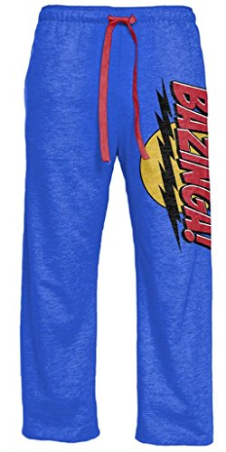 The Big Bang Theory Bazinga! Heather Blue Lounge Pants (Adult X-Large) (Big Bang Theory Penny compare prices)