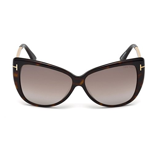 Sunglasses Tom Ford REVEKA TF 512 FT 52G dark havana / brown - Sunglasses Tom Brown