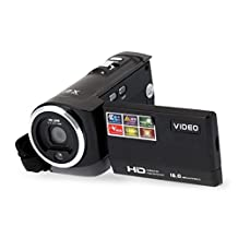 Camera Camcorder Dafana HDV-107 Digital Video Camcorder Camera HD 1080P 16MP DVR 2.7'' TFT LCD Screen 16x Zoom
