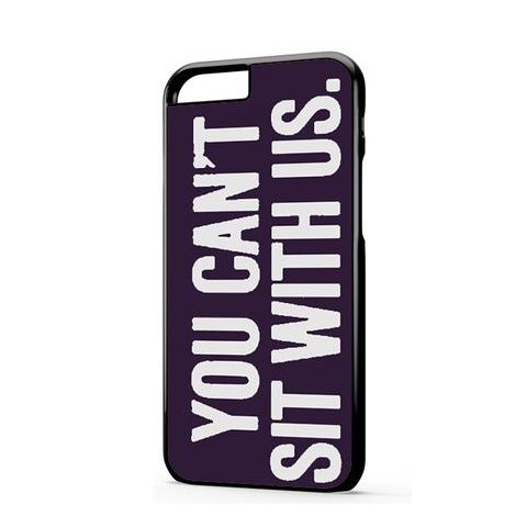 You Cant Sit With Us Dark Purple iPhone 6 Plus Case, You Cant Sit With Us Dark Purple iPhone 6S Plus (You Cant Sit With Us Phone Case)
