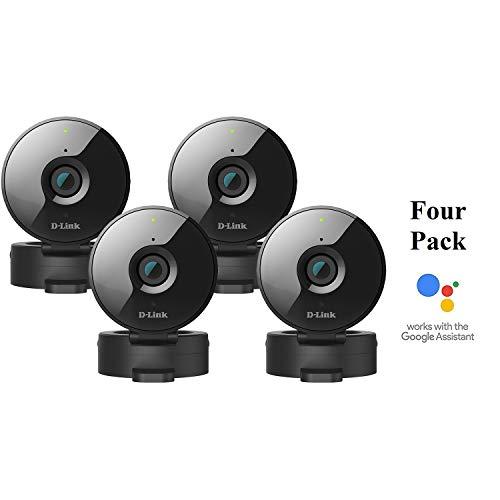 D-Link 4-Pack Wireless-N Network Surveillance 720P Home Internet Camera DCS-936L (Renewed)