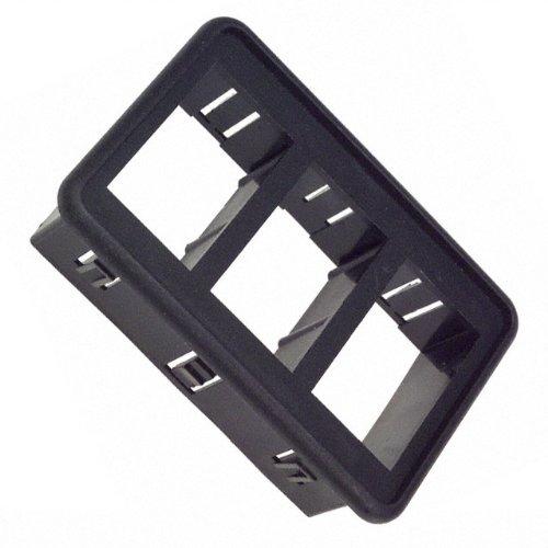 BRACKET MOUNTING-3 GANG BLACK (Pack of 10) (VM3-01)