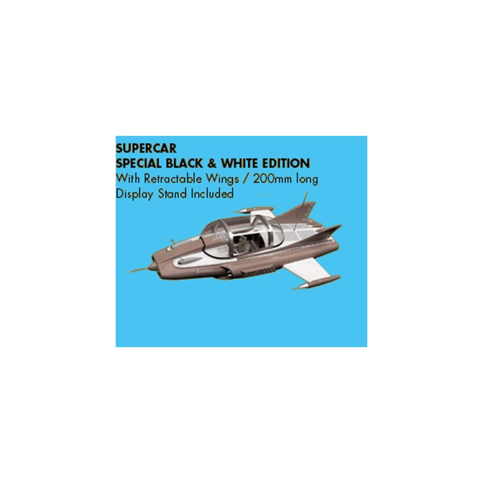 SUPERCAR RARE Black & White Classic TV Series DIE CAST Toys & Games