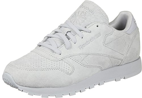 NBK Reebok Leather W CL grau Schuhe 6F47qExF