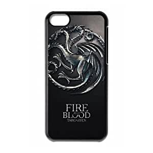 iPhone 5C phone cases Black Game of Thrones Phone cover NAS3839406