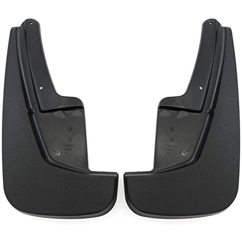 Red Hound Auto Front Molded Mud Flaps Compatible with Dodge Durango 2011-2019 Select Models