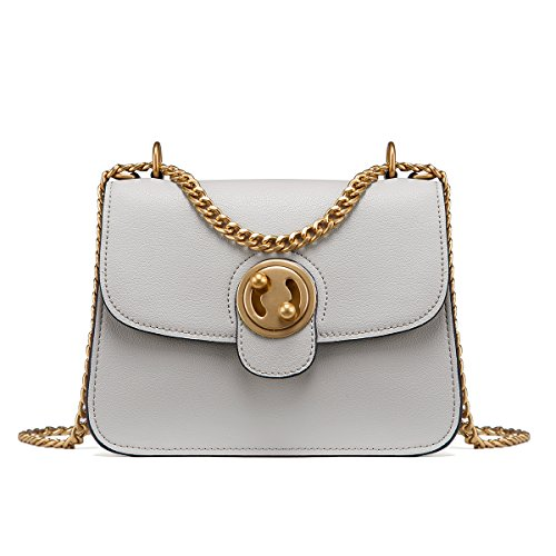 Fashion in Trendy LA'FESTIN Handbags More Genuine Purses Travel Shoulder Ladies for Designer Women Accessorize Tote Hobo and bag Luxury Classic Grey Leather Large Elegant FAqrq5Yv