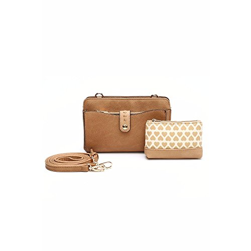 MKF Collection Frangelina 3-in-1 Designer Crossbody Wallet Set by Mia K. Farrow - Farrow And All