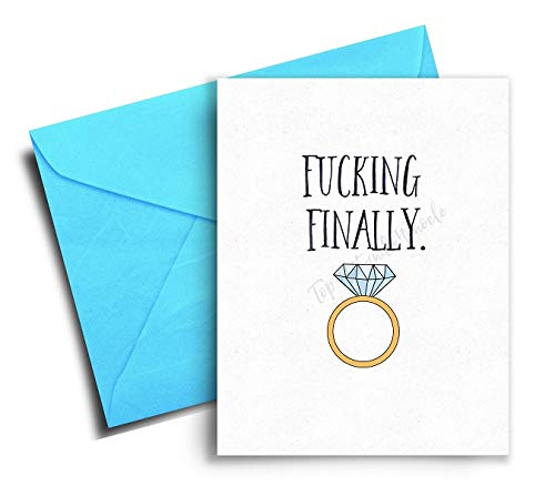 Funny Wedding Cards.Engagement Card Funny Wedding Congratulations Card Bridal Shower Cards For The Bride Engagement Gifts For Couples Funny