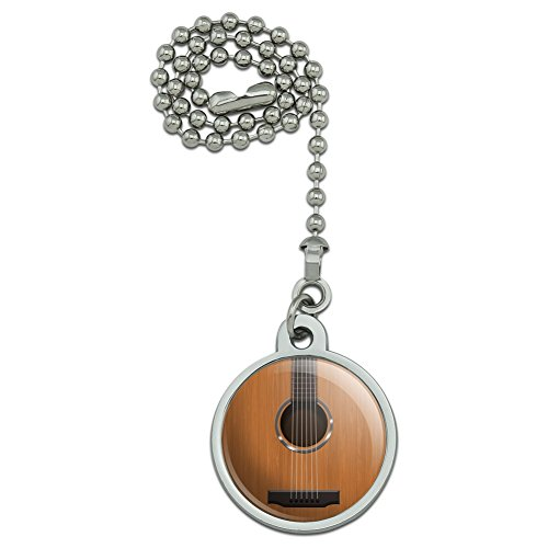 Acoustic Guitar Strings Ceiling Fan and Light Pull Chain