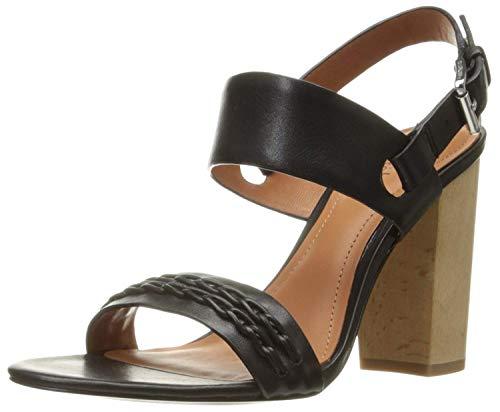 10 Crosby Women's Mandy Dress Sandal Black Vachetta Lux 8.5 M - Sandal Mandy