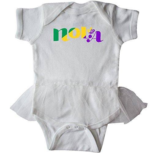 Inktastic - New Orleans, Louisiana Infant Tutu Bodysuit 18 Months White (White Tutu Party City)