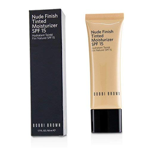 Bobbi Brown Tinted Moisturizer - BOBBI BROWN NUDE FINISH TINTED MOISTURIZER SPF 15 (Light to Medium Tint)