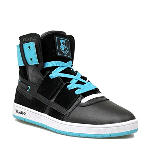 New Age (Womens)-New Age (Womens) Black/Turquoise-7.5