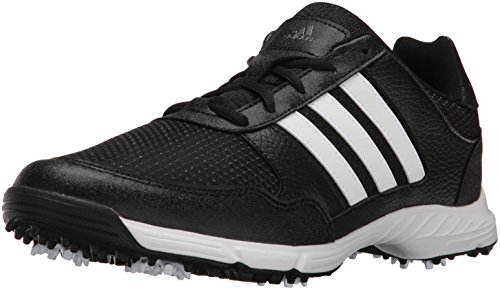 adidas Men's Tech Response Golf Shoe, Black, 14 M US
