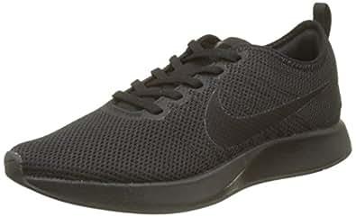 Nike Australia Men's Dualtone Racer Sneakers, Black/Black-Black, 7.5 US