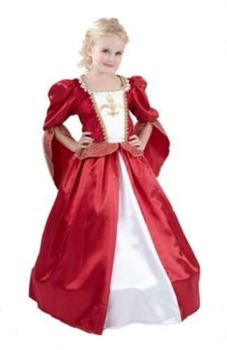 Girls Fancy Dress Costume Musketeer Girl Small Medieval Middle Ages by A2Z Kids (Musketeers Fancy Dress)