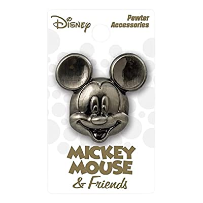 Disney Mickey Deluxe Pewter Lapel Pin: Toys & Games
