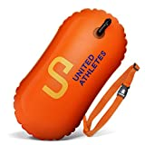 UNITED ATHLETES Swim and Safety Open Water Buoy for Swimmers and Triathletes
