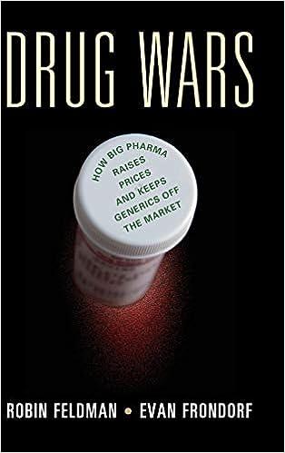 Drug Wars: How Big Pharma Raises Prices and Keeps Generics